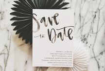 - beau papier (save the date) -