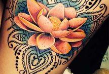 lår Tattoo