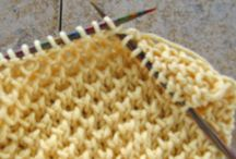 crochet and knitting stiches