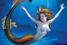 Mermaids / by Bobbie Jo Clark-Cotton