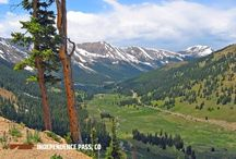 Colorado Overlooks / Take a hike, bike ride, or drive to some of these popular Colorado overlooks. They're so spectacular, they'll take your breath away!