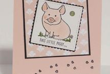 Stampin: Up This Little Piggy