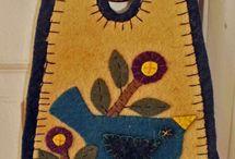 Filz-Türschilder