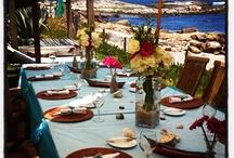 Wedings beach / Las decoraciones y flores que hago para los matrimonios