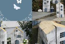 DIY crafts houses