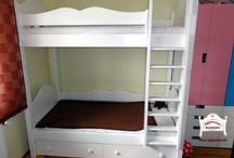 """Ágymester - """"Bonita"""" emeletes ágyak / """"Bonita"""" bunk beds / Az egyik legszebb széria gyerekágyunk emeletes változata"""