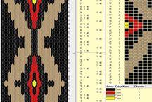6-hul brik mønstre
