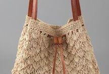 Örgü çanta model