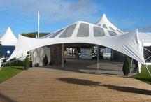 Party Tent Entrances