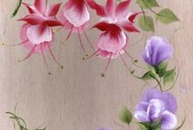 one stroke decorative painting