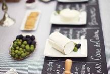mesas de salados