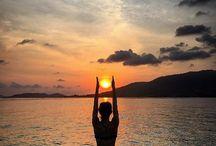 Peace Calm and Yoga