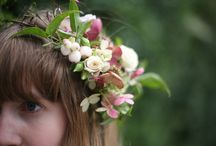 Hair flowers and crown inspiration