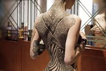 Woman tatoo