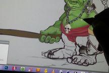 sketch / Digital art
