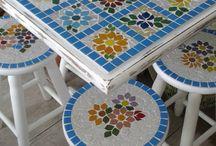 Diy tile tables