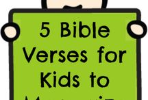 Bible Projects / by Priscilla Perales Bueno