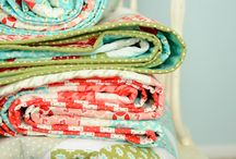 QUILTING / Beautiful fabric, modern design - modern quilt love! / by Jacquie Dudt-Mulzet (The Sweeter Side of Mommyhood)
