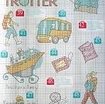 Travel cross stitch