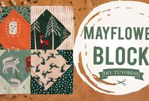 AGF Videos Sewing Tutorial: How to Make a Mayflower Quilt Block https://youtu.be/2L2hG6uAWuw