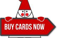 Follow Santa for a choice of charity Christmas cards