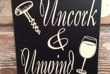 Wine Decor / Wine decor - furniture, wall hangings, and more - for the home.