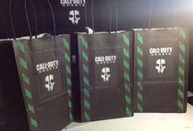 Nathaniel's 9th birthday! / Call of duty ghost / by Ivy Plata