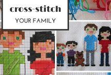 Cross Stitching / by Jessie Rogers