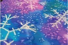 winter art projects