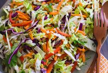Sexy Salads / Delicious Salads. Keywords: vegetable, salad, dressing, healthy, food, lunch, dinner, side
