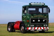 T ERF TRUCKS / Trucks of the British brand ERF.(UK)