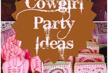 Caitys cowgirl party