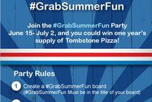 #GrabSummerFun Pinterest board