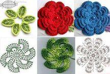 videos crochet / flores y otras cosita al crochet.