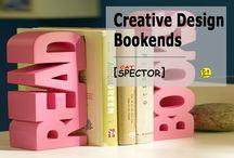 Creative Design. Bookends
