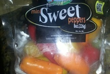 We love red, orange and yellow peppers!