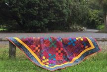 Quilt in the Garden / This is the kind of gardening I like!