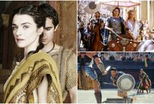 Period Dramas - Ancient Times ( from b.C. to 500 A.D.) / Read related post at http://www.aheadfullofpin.com/2016/03/period-dramas-ancient-times.html