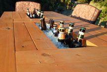 Gartenmöbel / Gartentisch bauen