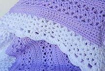paars met witte rand