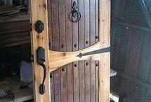 porta em madeira antiga