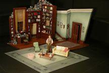 -театр- макеты, эскизы