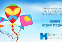 Makar Sankrat / Makar Sankranti is a Hindus festival celebrated in almost all parts of India. It is a harvest festival that falls on the Magh month of the Hindu Solar Calendar