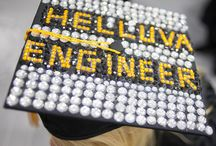 #IGotOUT / Make quite an exit by decorating your Mortar board for commencement. Here is some PINspiration!