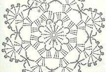 Snow flake crochet