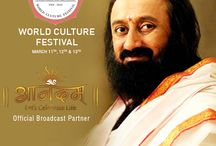 World Culture Festival 2016 / Watch 35,973 Artist from 155 countries performing Live together on huge 7 acres stage. Watch #WorldCultureFestival LIVE only on #AnandamTV