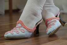 Adorable Feet ~ Stepping Thru Herstory / what we've worn on our feet through time / by SilverDrallion