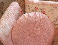 Shabby and vintage and pink and white