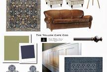 КОЛЛАЖИ / сочетания цветов,мебели,фактур