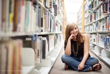 Library Senior Pictures